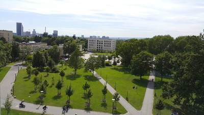Der Campus Westend der Goethe Universität Frankfurt a.M. als Veranstaltungsort